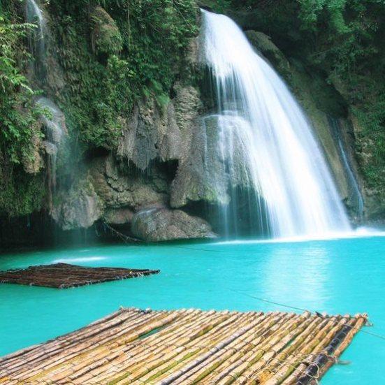 Cascadas Kawasan , FilipinasThe-Philippines