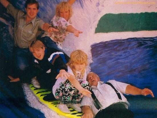 surfenado en familia