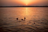 Varanasi y el río Ganges ( India)